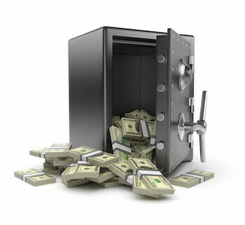 vault and money