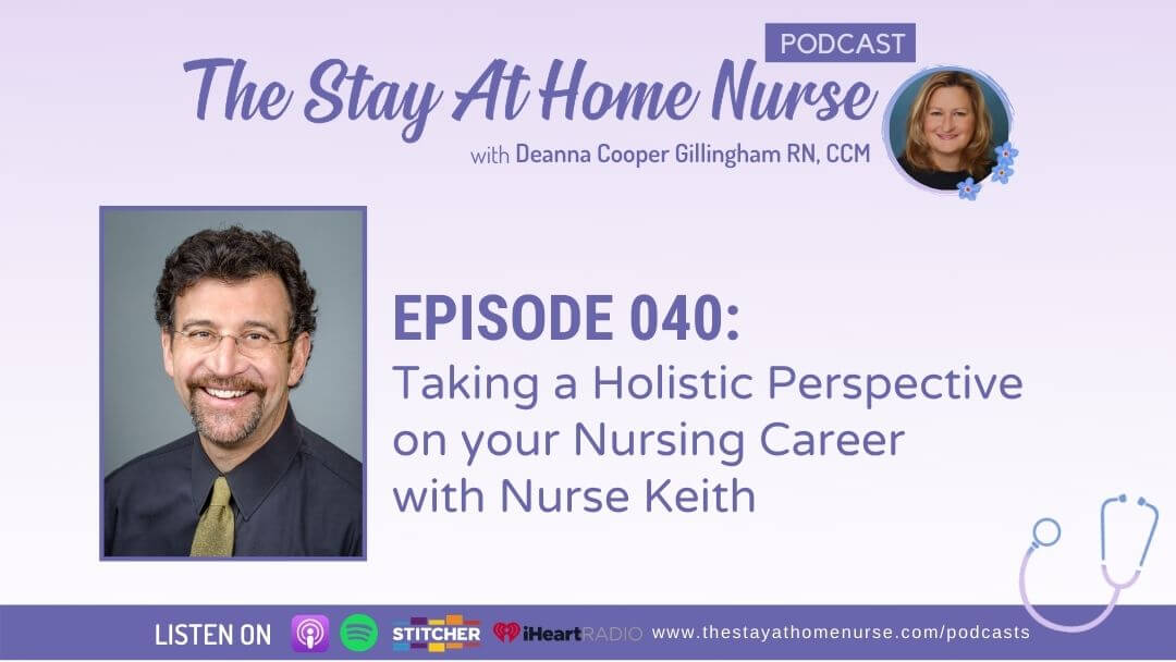 Taking a Holistic Perspective on your Nursing Career